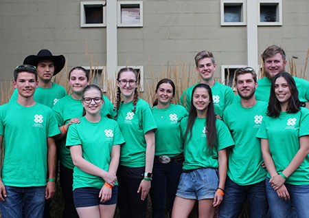 group of 4-H members